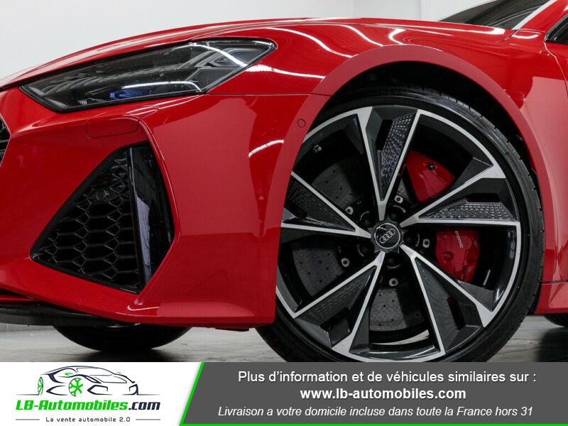 Audi RS7 V8 4.0 TFSI 600ch / Quattro Tiptronic 8 Rouge occasion à Beaupuy - photo n°8