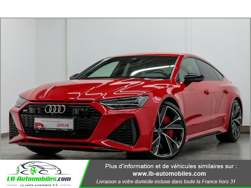 Audi RS7 V8 4.0 TFSI 600ch / Quattro Tiptronic 8 Rouge occasion à Beaupuy