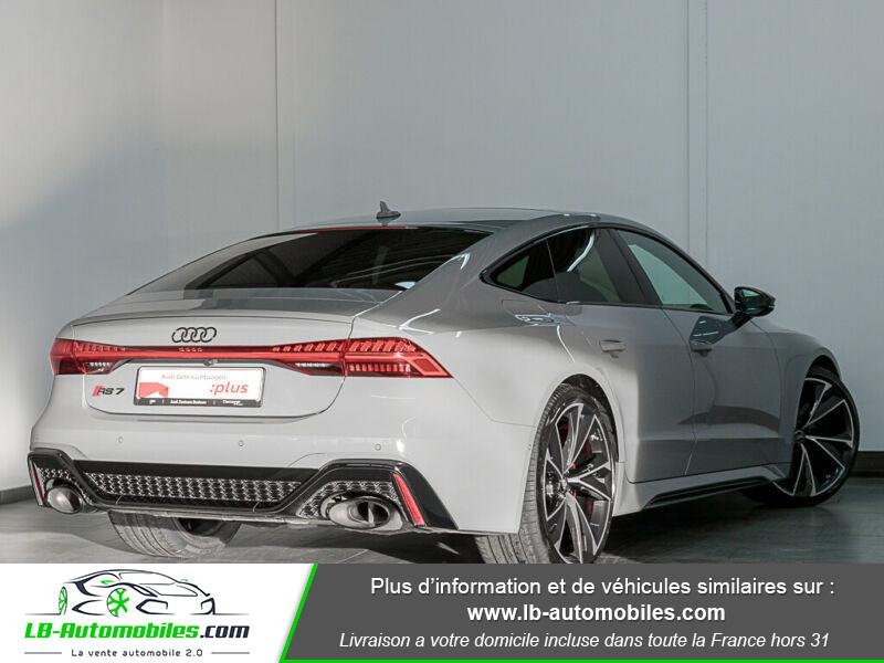 Audi RS7 V8 4.0 TFSI 600ch / Quattro Tiptronic 8 Gris occasion à Beaupuy - photo n°3