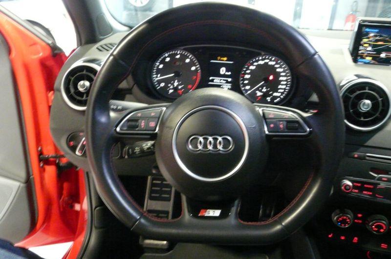 Audi S1 2.0 TFSI 231 cv Quattro Sportback Rouge occasion à Beaupuy - photo n°9