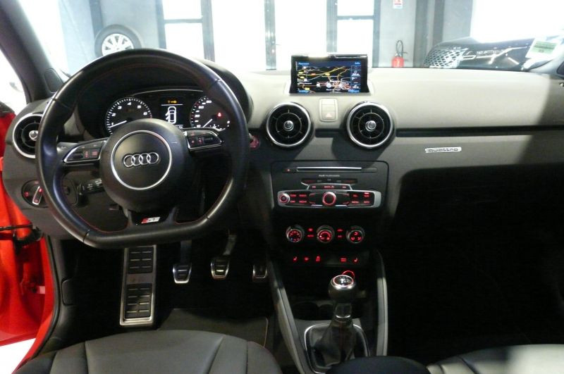 Audi S1 2.0 TFSI 231 cv Quattro Sportback Rouge occasion à Beaupuy - photo n°2