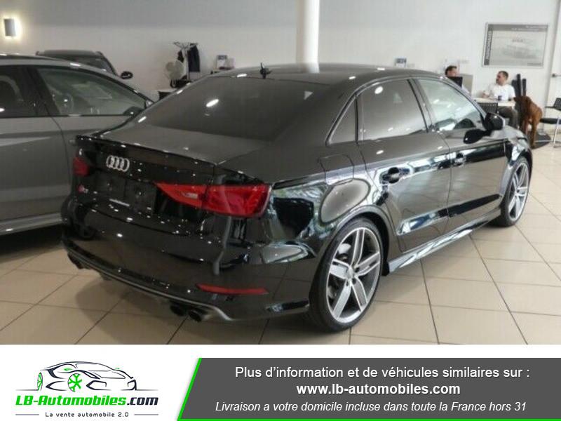 Audi S3 Berline 2.0 TFSI 300 / Quattro S-Tronic 6 Noir occasion à Beaupuy - photo n°3