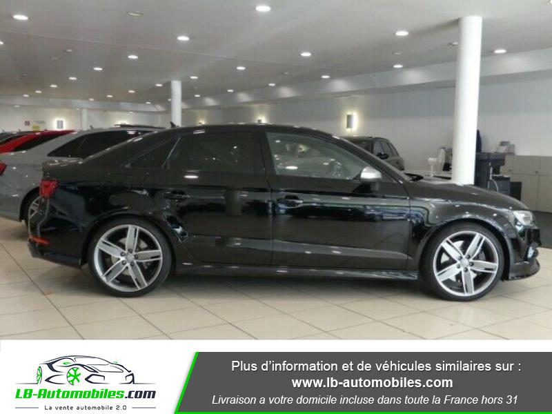 Audi S3 Berline 2.0 TFSI 300 / Quattro S-Tronic 6 Noir occasion à Beaupuy - photo n°12