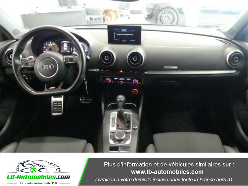 Audi S3 Berline 2.0 TFSI 300 / Quattro S-Tronic 6 Noir occasion à Beaupuy - photo n°2