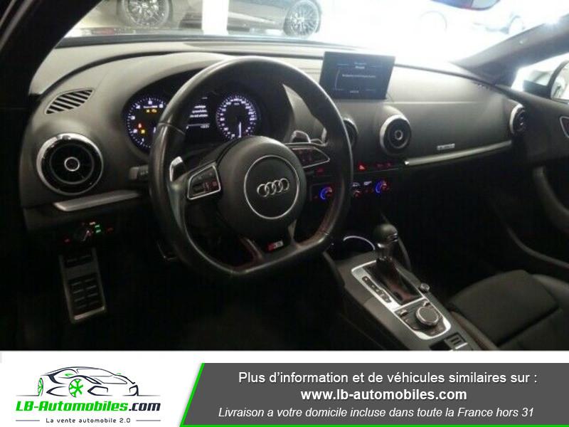 Audi S3 Berline 2.0 TFSI 300 / Quattro S-Tronic 6 Noir occasion à Beaupuy - photo n°6