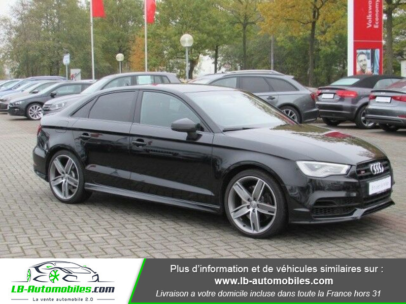 Audi S3 Berline 2.0 TFSI 300 / Quattro Noir occasion à Beaupuy