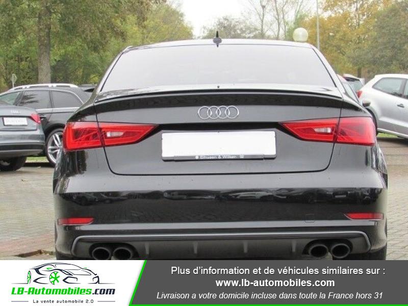 Audi S3 Berline 2.0 TFSI 300 / Quattro Noir occasion à Beaupuy - photo n°9