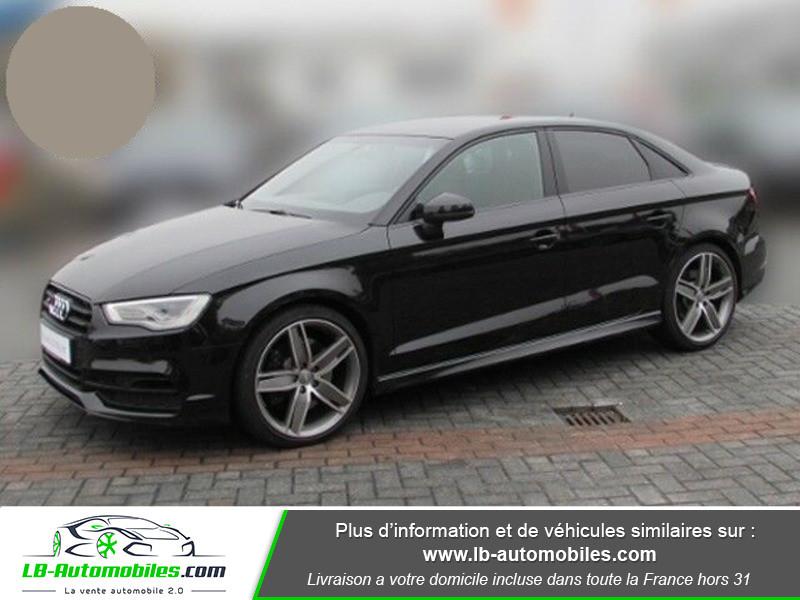 Audi S3 Berline 2.0 TFSI 300 / Quattro Noir occasion à Beaupuy - photo n°10