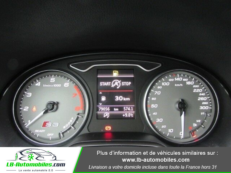 Audi S3 Berline 2.0 TFSI 300 / Quattro Noir occasion à Beaupuy - photo n°5