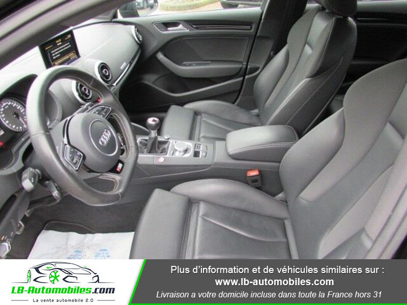 Audi S3 Berline 2.0 TFSI 300 / Quattro Noir occasion à Beaupuy - photo n°15