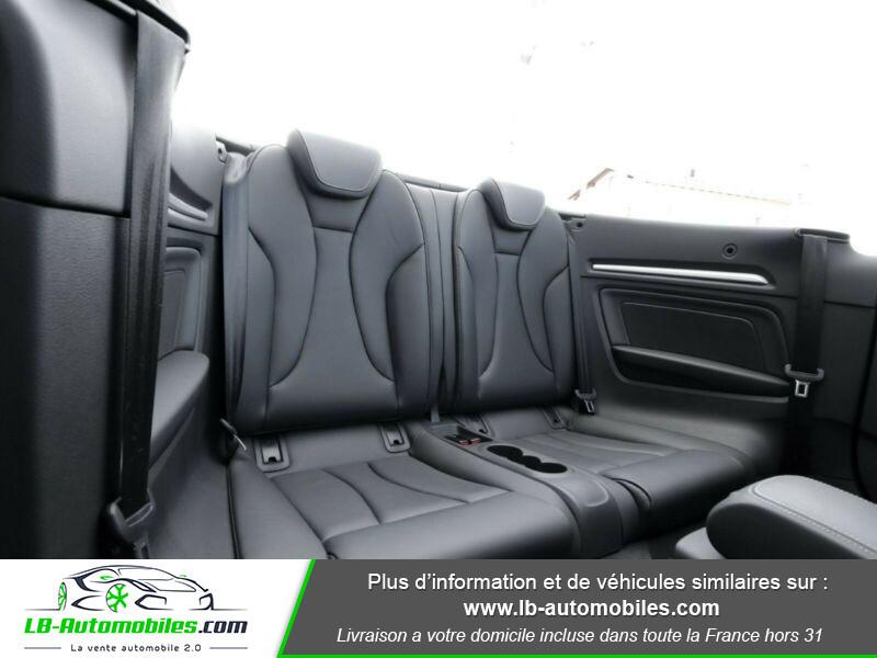 Audi S3 Cabriolet TFSI 300 S tronic Noir occasion à Beaupuy - photo n°13