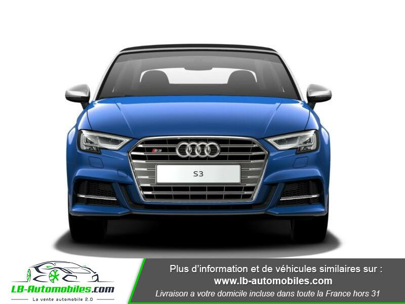 Audi S3 Cabriolet TFSI 300 S tronic Bleu occasion à Beaupuy - photo n°6