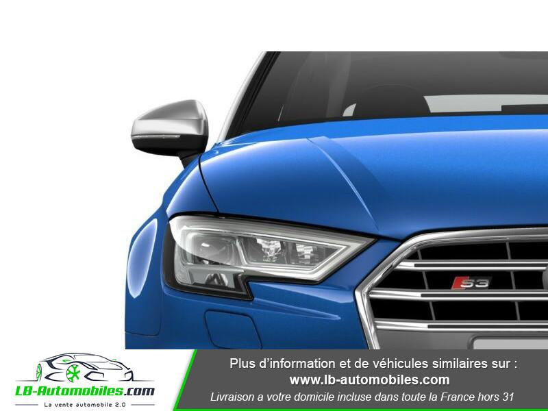 Audi S3 Cabriolet TFSI 300 S tronic Bleu occasion à Beaupuy - photo n°7