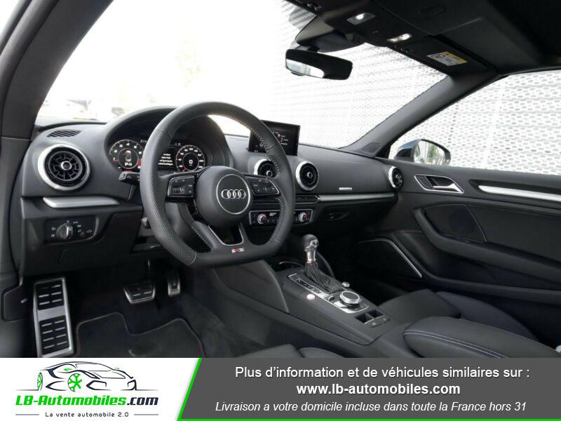 Audi S3 Cabriolet TFSI 300 S tronic Noir occasion à Beaupuy - photo n°11
