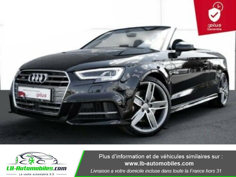 Audi S3 Cabriolet TFSI 300 S tronic Noir occasion à Beaupuy