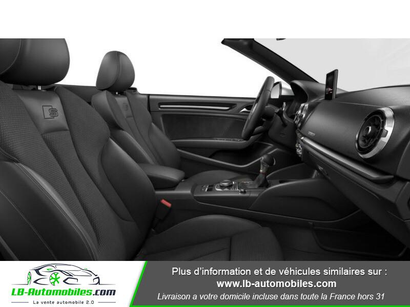 Audi S3 Cabriolet TFSI 300 S tronic Bleu occasion à Beaupuy - photo n°8