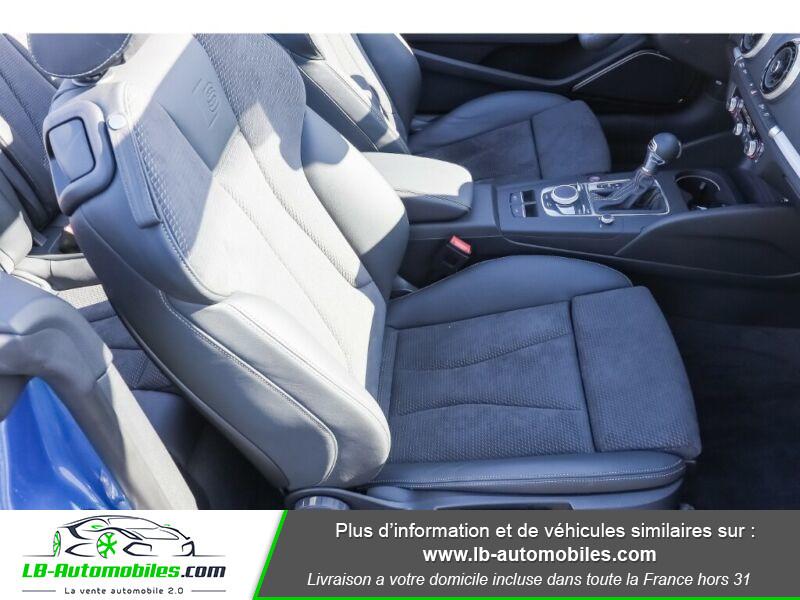 Audi S3 Cabriolet TFSI 300 S tronic Bleu occasion à Beaupuy - photo n°15