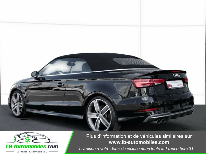 Audi S3 Cabriolet TFSI 300 S tronic Noir occasion à Beaupuy - photo n°19
