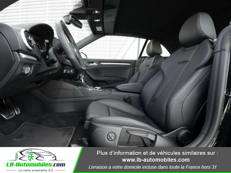 Audi S3 Cabriolet TFSI 300 S tronic Noir occasion à Beaupuy - photo n°12
