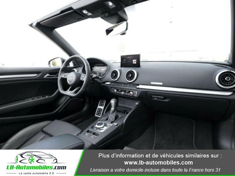 Audi S3 Cabriolet TFSI 300 S tronic Noir occasion à Beaupuy - photo n°2