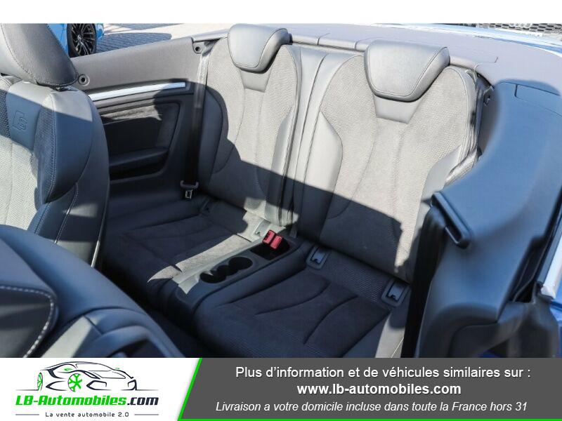 Audi S3 Cabriolet TFSI 300 S tronic Bleu occasion à Beaupuy - photo n°13