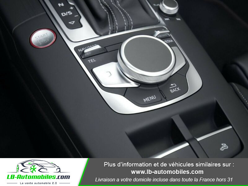Audi S3 Cabriolet TFSI 300 S tronic Noir occasion à Beaupuy - photo n°5