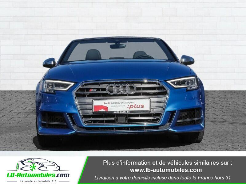 Audi S3 Cabriolet TFSI 300 S tronic Bleu occasion à Beaupuy