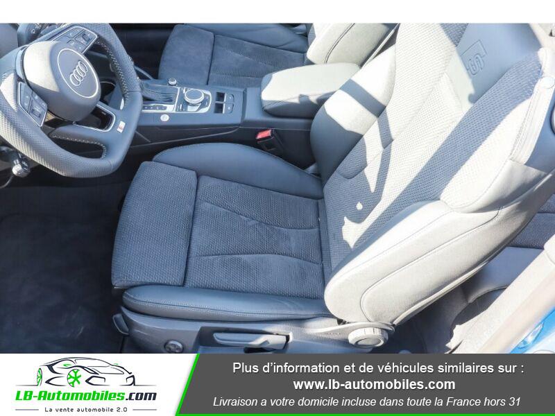 Audi S3 Cabriolet TFSI 300 S tronic Bleu occasion à Beaupuy - photo n°9