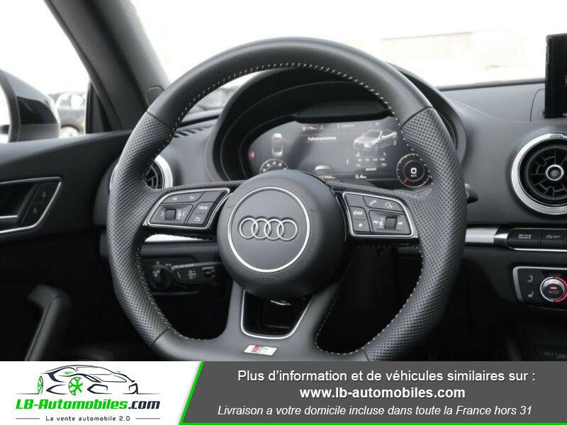 Audi S3 Cabriolet TFSI 300 S tronic Noir occasion à Beaupuy - photo n°10