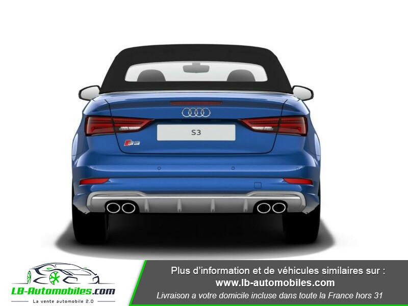 Audi S3 Cabriolet TFSI 300 S tronic Bleu occasion à Beaupuy - photo n°5