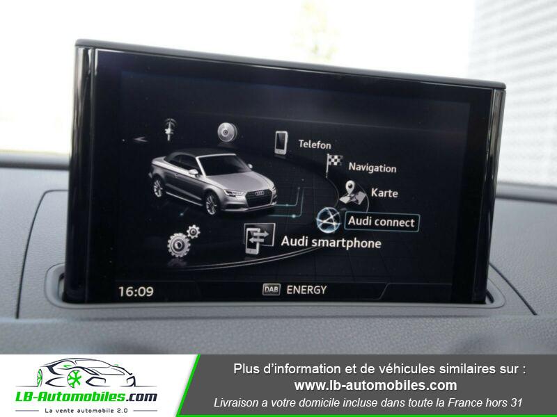 Audi S3 Cabriolet TFSI 300 S tronic Noir occasion à Beaupuy - photo n°16