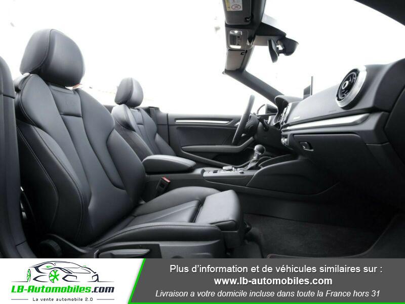 Audi S3 Cabriolet TFSI 300 S tronic Noir occasion à Beaupuy - photo n°18