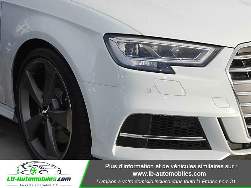 Audi S3 Sportback 2.0 TFSI 310 / Quattro S-Tronic 6 Blanc occasion à Beaupuy - photo n°10