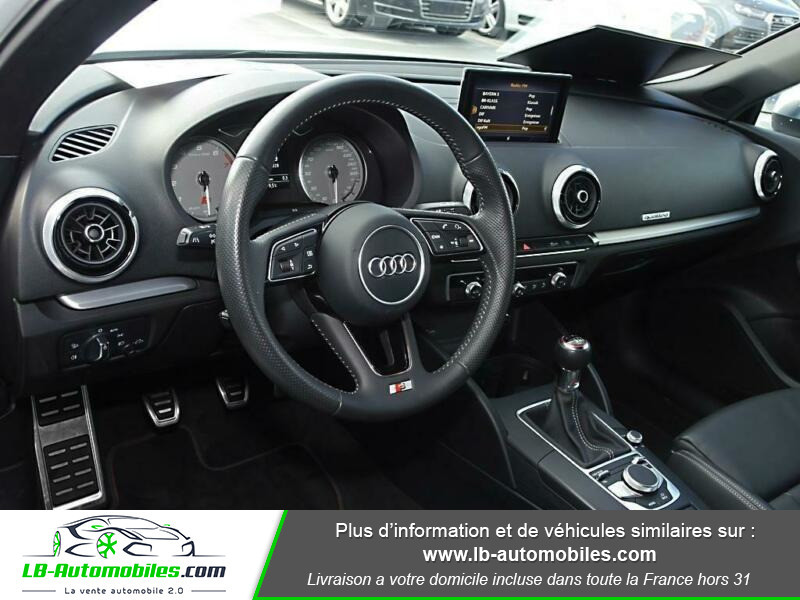 Audi S3 Sportback 2.0 TFSI 310 / Quattro S-Tronic 6 Blanc occasion à Beaupuy - photo n°2