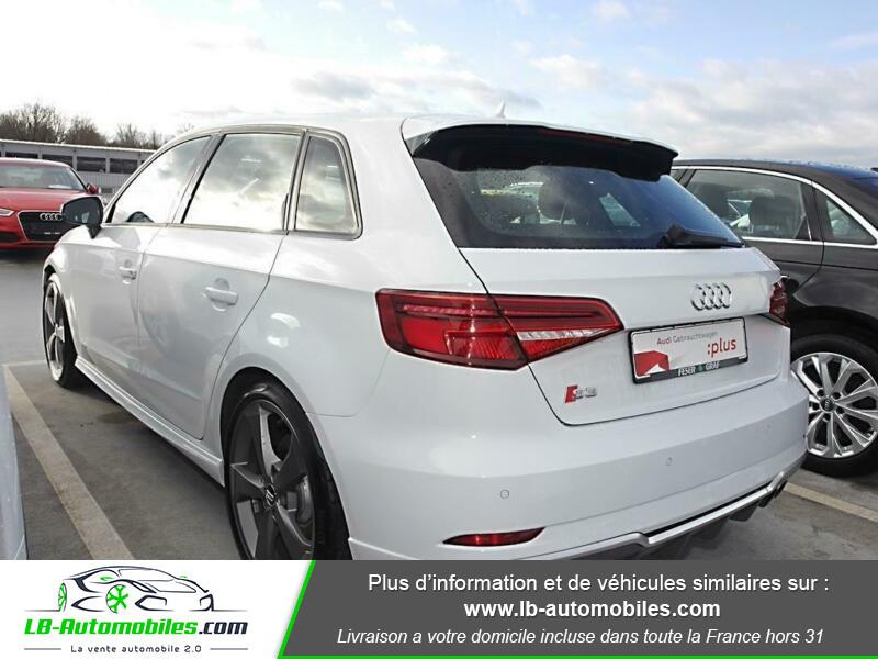Audi S3 Sportback 2.0 TFSI 310 / Quattro S-Tronic 6 Blanc occasion à Beaupuy - photo n°3