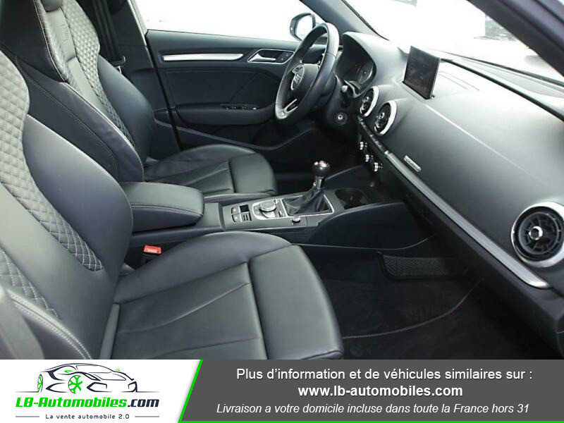 Audi S3 Sportback 2.0 TFSI 310 / Quattro S-Tronic 6 Blanc occasion à Beaupuy - photo n°5