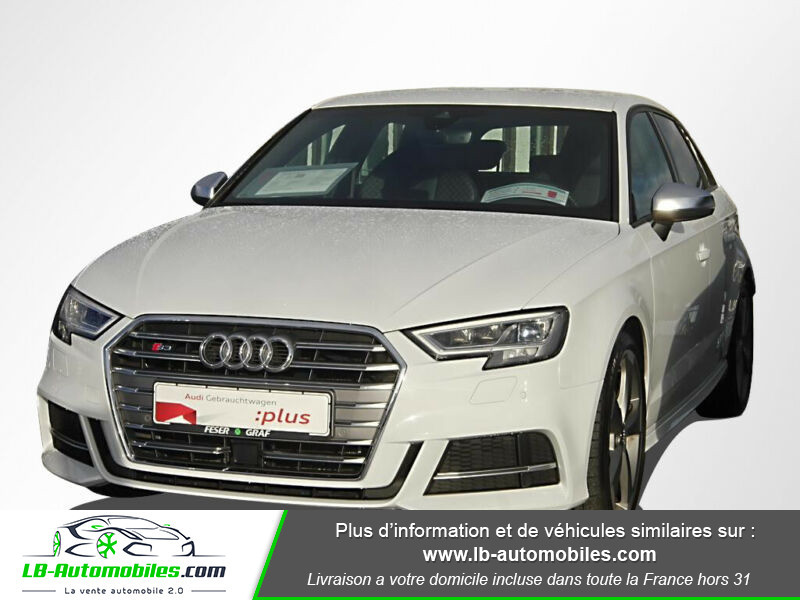 Audi S3 Sportback 2.0 TFSI 310 / Quattro S-Tronic 6 Blanc occasion à Beaupuy