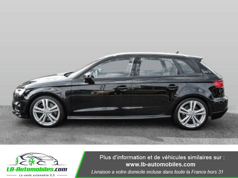 Audi S3 Sportback 2.0 TFSI 310 / S-Tronic 6 Noir occasion à Beaupuy - photo n°12