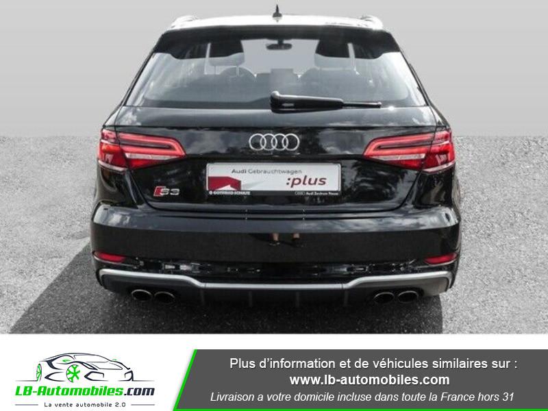 Audi S3 Sportback 2.0 TFSI 310 / S-Tronic 6 Noir occasion à Beaupuy - photo n°13
