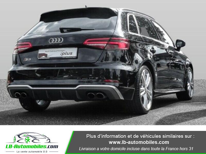 Audi S3 Sportback 2.0 TFSI 310 / S-Tronic 6 Noir occasion à Beaupuy - photo n°3