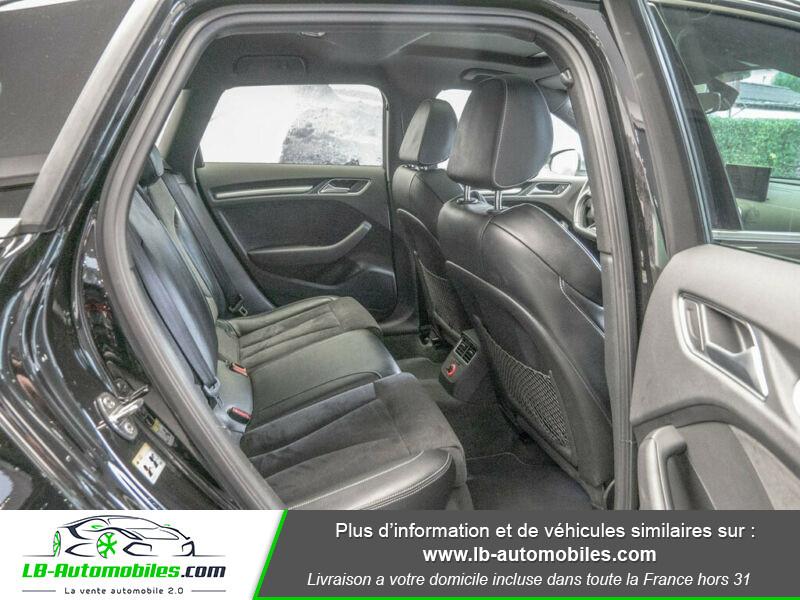 Audi S3 Sportback 2.0 TFSI Quattro 300 Noir occasion à Beaupuy - photo n°5