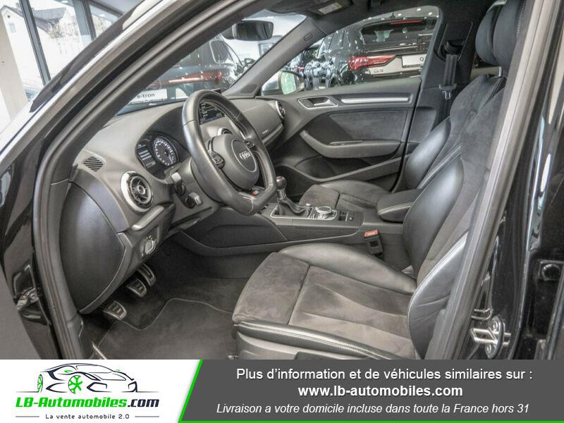 Audi S3 Sportback 2.0 TFSI Quattro 300 Noir occasion à Beaupuy - photo n°4