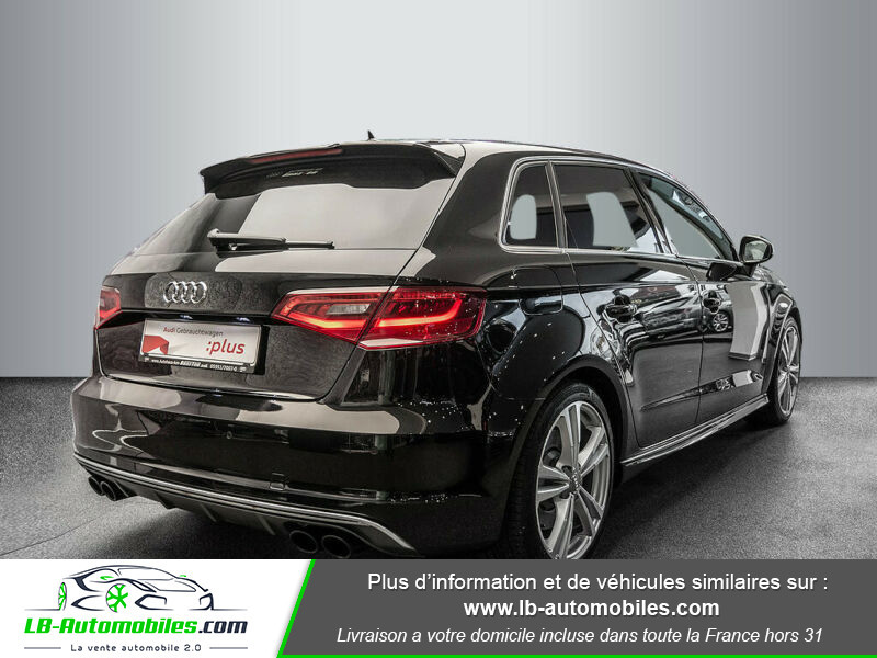 Audi S3 Sportback 2.0 TFSI Quattro 300 Noir occasion à Beaupuy - photo n°3