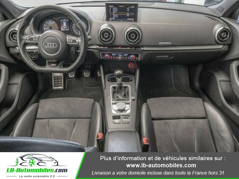 Audi S3 Sportback 2.0 TFSI Quattro 300 Noir occasion à Beaupuy - photo n°2