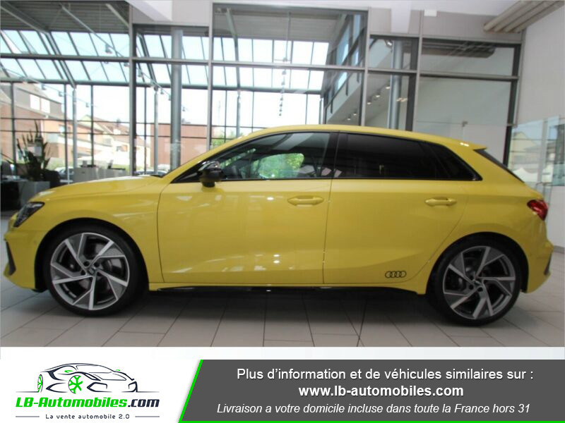 Audi S3 Sportback TFSI 310 S tronic Jaune occasion à Beaupuy - photo n°19