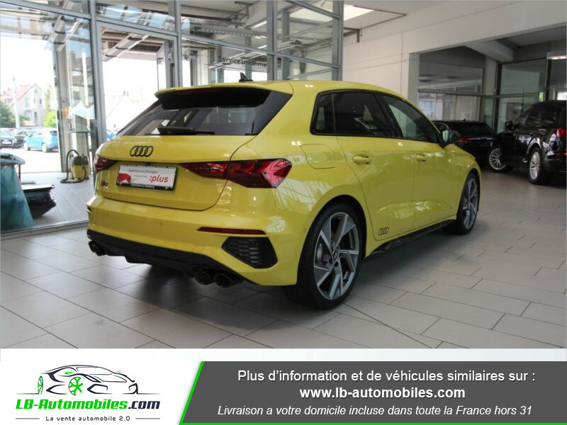 Audi S3 Sportback TFSI 310 S tronic Jaune occasion à Beaupuy - photo n°3