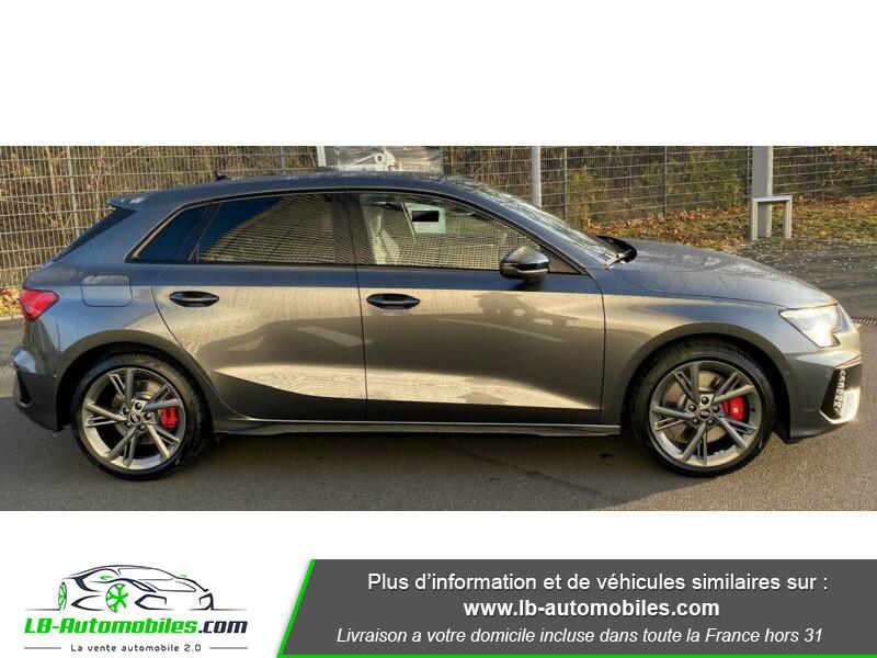 Audi S3 Sportback TFSI 310 S tronic Gris occasion à Beaupuy - photo n°5
