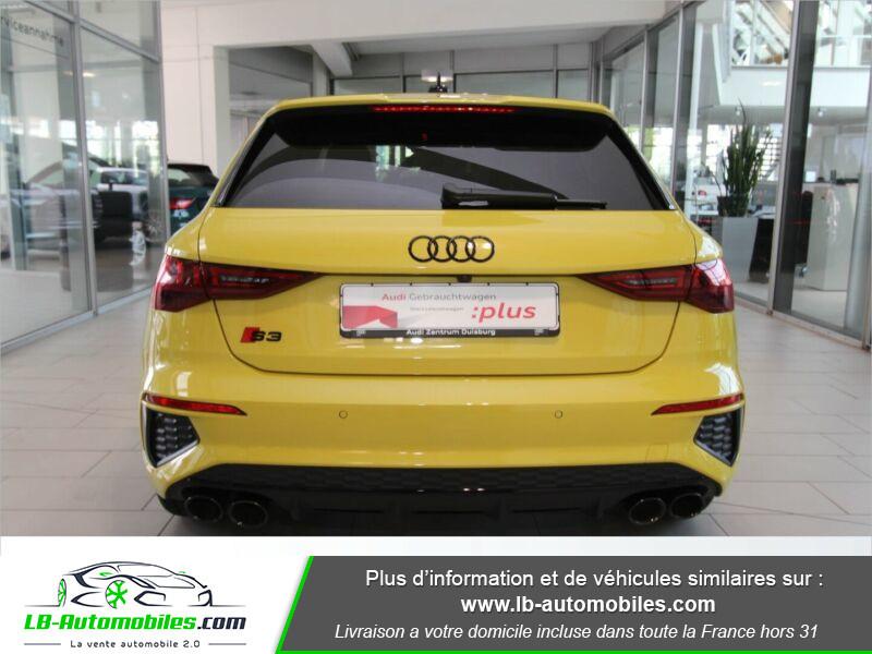 Audi S3 Sportback TFSI 310 S tronic Jaune occasion à Beaupuy - photo n°18