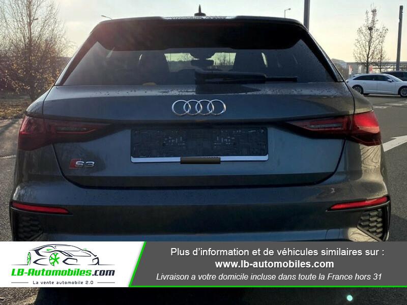 Audi S3 Sportback TFSI 310 S tronic Gris occasion à Beaupuy - photo n°4