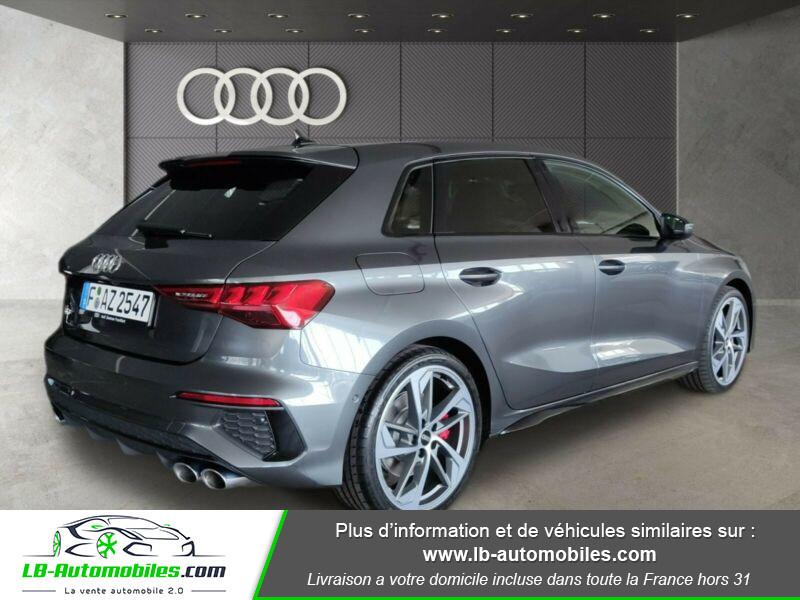 Audi S3 Sportback TFSI 310 S tronic Gris occasion à Beaupuy - photo n°3